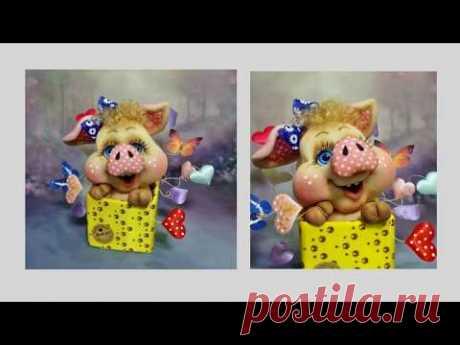 """Приглашаю всех на мастер-класс по созданию куклы """"свинка-сюрприз""""!"""