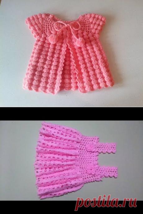Tığ İşi Şeker Bebek Elbisesi 3 Boyutlu - YouTube