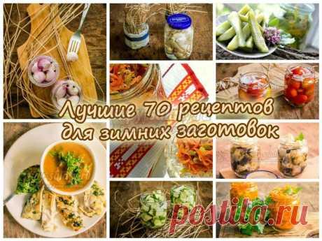 Лучшие 70 рецептов для зимних заготовок » Сайт супы и салаты, рецепты, фоторецепты, блюда из мяса, блюда из рыбы, блюда из овощей, выпечка, торты, напитки, джемы, , десерты