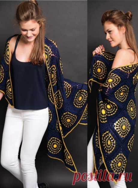 Mandala shawl hook