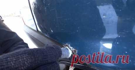 Как пальчиковой батарейкой можно убрать рыжики и жучки   Ремонт авто своими руками   Яндекс Дзен