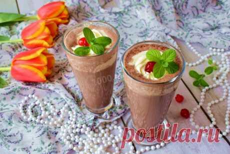 Молочный коктейль с какао рецепт с фото пошагово - 1000.menu