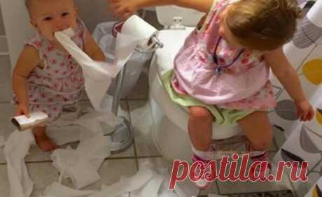 100 смешных фото о том, на что способны дети