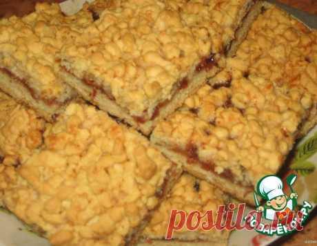 Тертый пирог – кулинарный рецепт