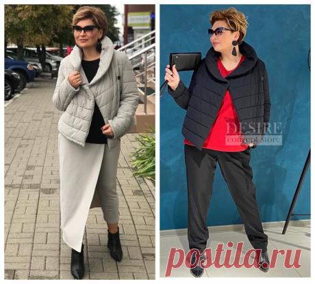 Модные куртки на осень: Стильные образы для женщин 50+   Школа стиля 50+   Яндекс Дзен