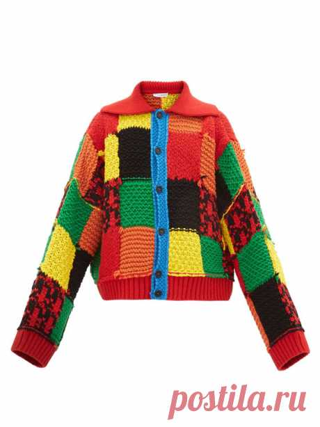Opportunity cost: JW Anderson's wool patchwork cardigan and other ways to spend SGD2,715 | Esquire SG
