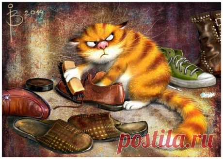 ХУЛИГАНИМ И ВЕСЕЛИМСЯ!)) Художник-иллюстратор Рина Зенюк | 'Котожизненное' Художник-иллюстратор Рина Зенюк. Ее творчество известно во многих странах мира ее знаменитыми и уникальными синими котами, изображения которых настоль…