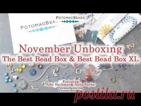 Unboxing the Best Bead Box & Best Bead Box XL: November Edition by PotomacBeads