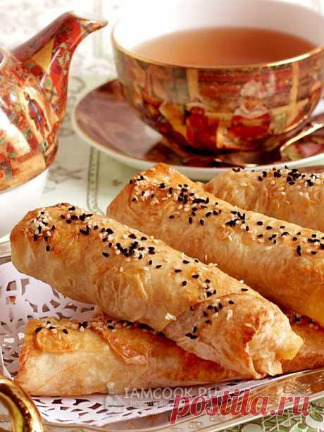Трубочки из лаваша с картошкой — рецепт с фото пошагово