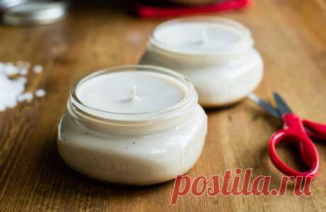 Как сделать ароматические свечи
