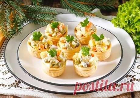 Тарталетки на праздничный стол – самые простые и вкусные рецепты