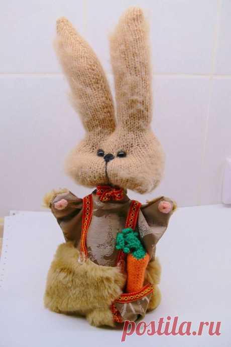 (9) Перчаточная кукла Зайчик , Мышка, Лягушка .Кукла на руку для кукольного театра.