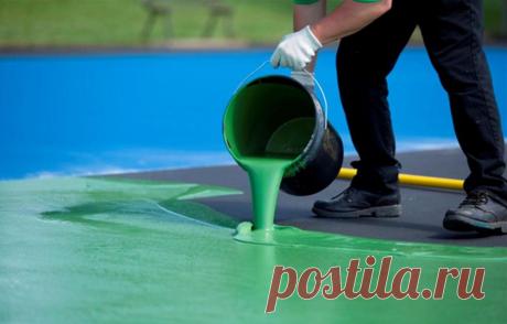 Резиновая краска: эластичное покрытие, которое не потрескается, не отслоится и не выцветет | ZAGGO.RU | Яндекс Дзен