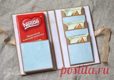 Шоколадница с кармашками для чая. мастер-класс. — Сделай сам, идеи для творчества - DIY Ideas
