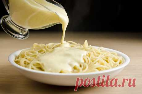 Рецепт домашнего сырного соуса