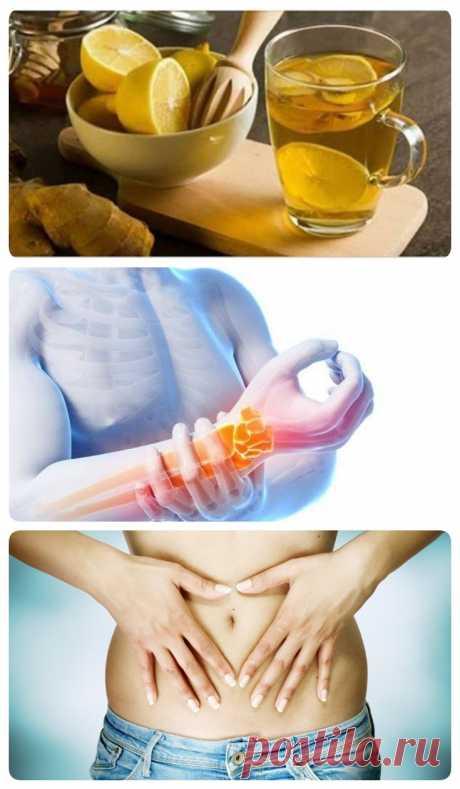 Имбирная вода уберет лишние сантиметры на талии и облегчит боль в суставах