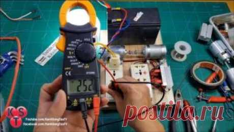 El convertidor 12В\/220В en base a dos motorchikov