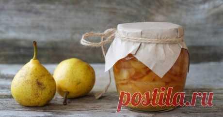 Царское грушевое варенье с лимоном — Sloosh – кулинарные рецепты