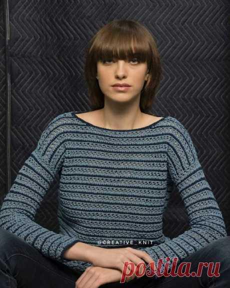 #спицы #свитер