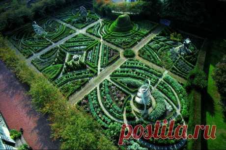 10 самых необычных и красивых садов мира   Путешествия, туризм, наука   Яндекс Дзен
