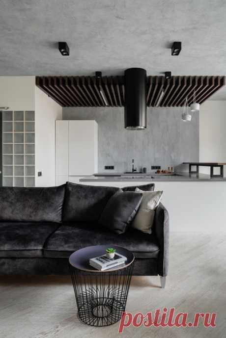 Двухкомнатная квартира, 60 м2 Дизайн: студия KIDZ Design Смотреть полностью: