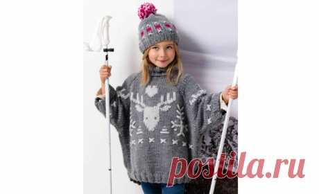 Детский свитер «Зимниерадости»
