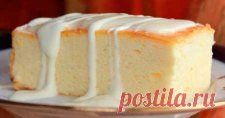 Сливочно-ванильная ТВОРОЖНАЯ ЗАПЕКАНКА – восхитительный завтрак! Отличный рецепт, попробуйте!