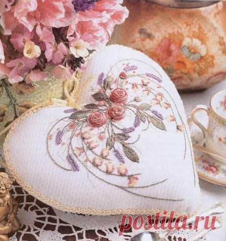 Красота шва рококо в вышивке (Вышивка) – Журнал Вдохновение Рукодельницы