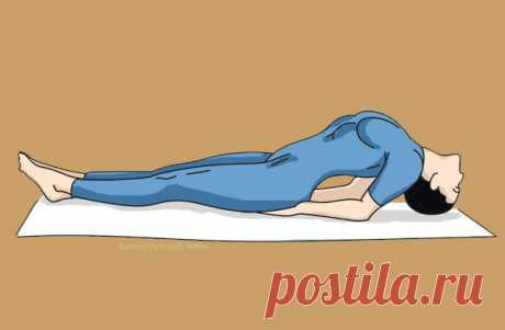 Делайте это упражнение 1 раз в 2 дня - cпина перестанет болеть сразу!