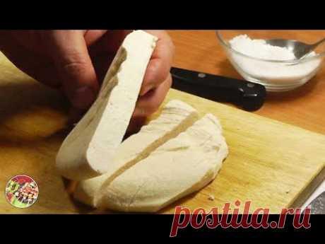 Домашний сыр за 9,5 минут. Просто, вкусно, недорого.