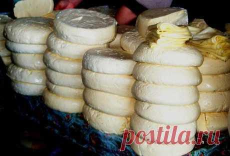 Сыр сулугуни домашний: рецепт с фото  Этот популярный в нашей стране продукт готовится по старинной технологии, которая начинает свою историю в глубине веков. Сыр сулугуни относится к группе рассольных сыров, которые созревают в растворе поваренной соли. Классический мингрельский сыр готовится только на овечьем молоке, однако в промышленном производстве используется любое (буйволиное, коровье или козье). Качественный продукт имеет приятный кисломолочный, солоноватый вкус и...
