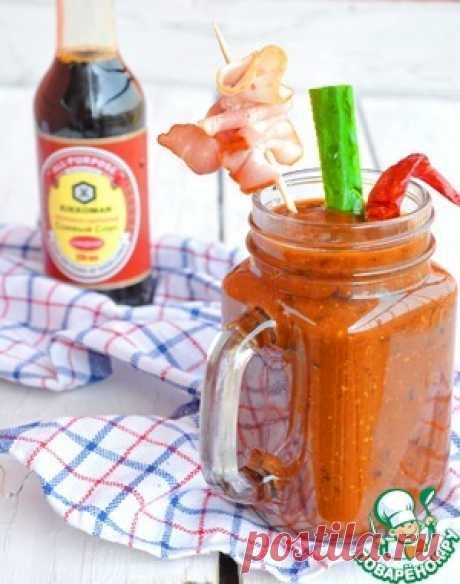 La salsa de la parillada con el bacon y las ciruelas pasas - la receta de cocina