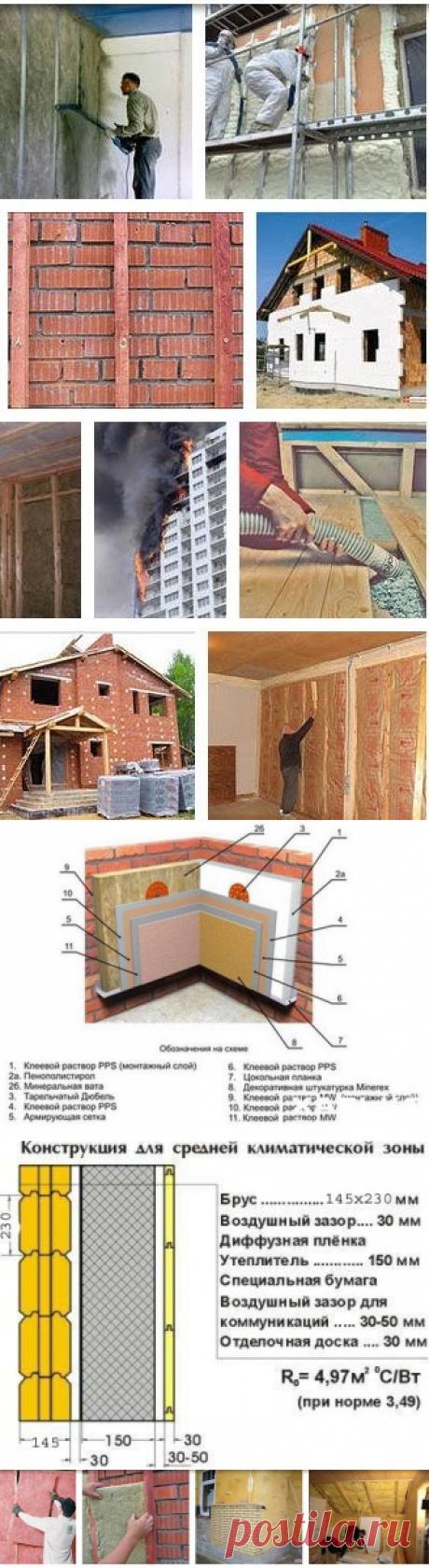 Как самостоятельно утеплить фасад, стены, пол и крышу дома или дачи своими руками. Основные проверенные методики и технологии самостоятельного утепления загородных домов - Ремонт и дизайн дома своими руками