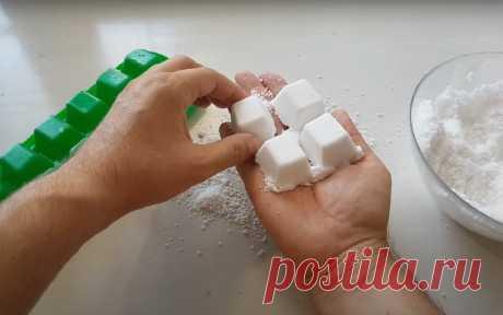 Таблетки для мытья посуды в домашних условиях