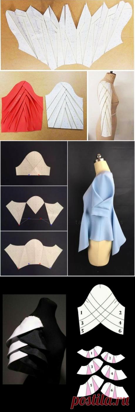 Моделирование оригинальных рукавов — DIYIdeas