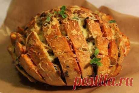 Закусочный хлеб на скорую руку