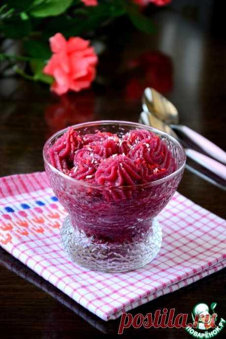 Мусс из вишни - кулинарный рецепт