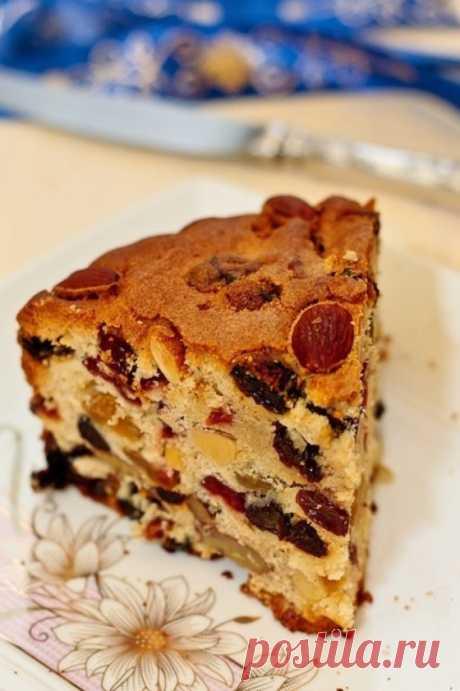 Рождественский кекс - Кулинарный рецепт - Повар в доме