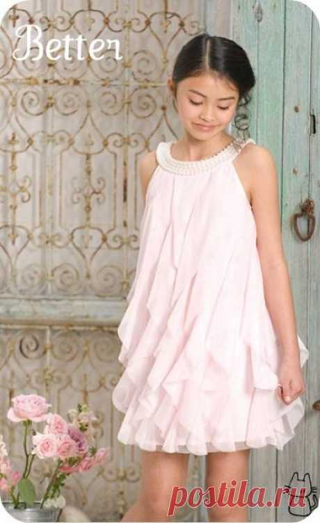Текстильные фантазии и не только: Платья для девочек