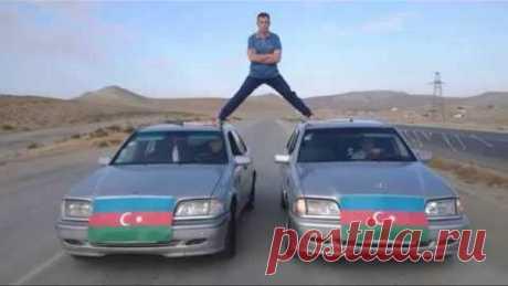 Азербайджанец повторил эпический шпагат Ван Дамма
