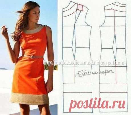 Los patrones de los vestidos fáciles veraniegos