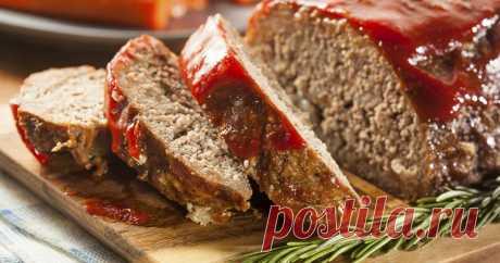 Как быстро приготовить нежный мясной хлеб для бутербродов | CookCool | Яндекс Дзен