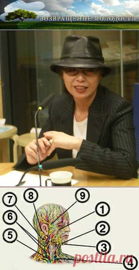 Японский массаж для лица Асаха - Цоган.