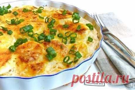 Картофель «Дофине»  Ингредиенты:  Картофель – 1 кг Показать полностью…