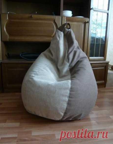 We sew a chair a bag