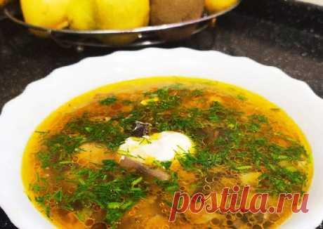 (5) Грибной суп - пошаговый рецепт с фото. Автор рецепта Юлия Ко . - Cookpad
