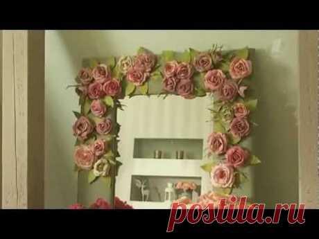 Как сделать розы из фоамирана (Анастасия Панеева) - YouTube