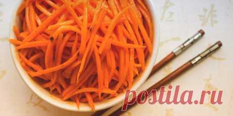 Как приготовить сочную и ароматную морковь по-корейски - Лайфхакер