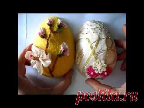 Как изготовить  украшение для пасхального стола. Яйцо папье-маше