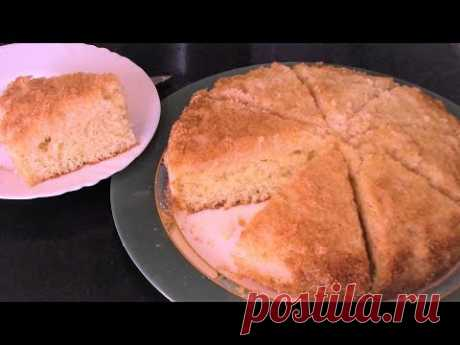 Кокосовый пирог из Датского королевства - простой, быстрый и очень вкусный! Рецепт пирога на кефире.